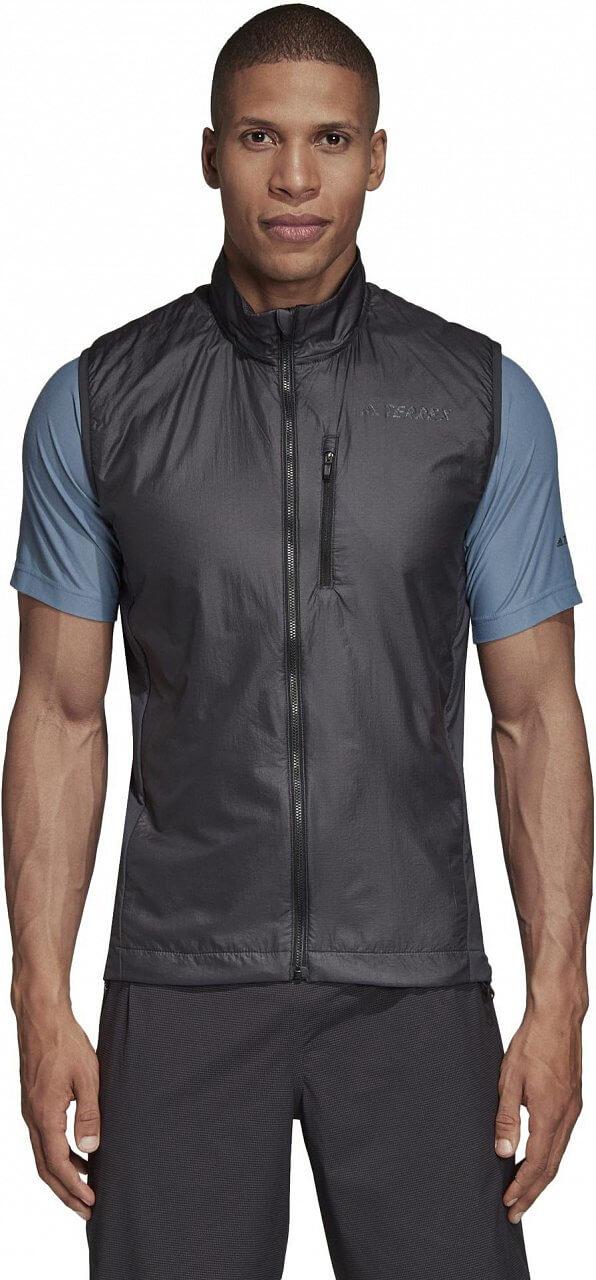Pánská sportovní bunda adidas Agravic Alpha Vest