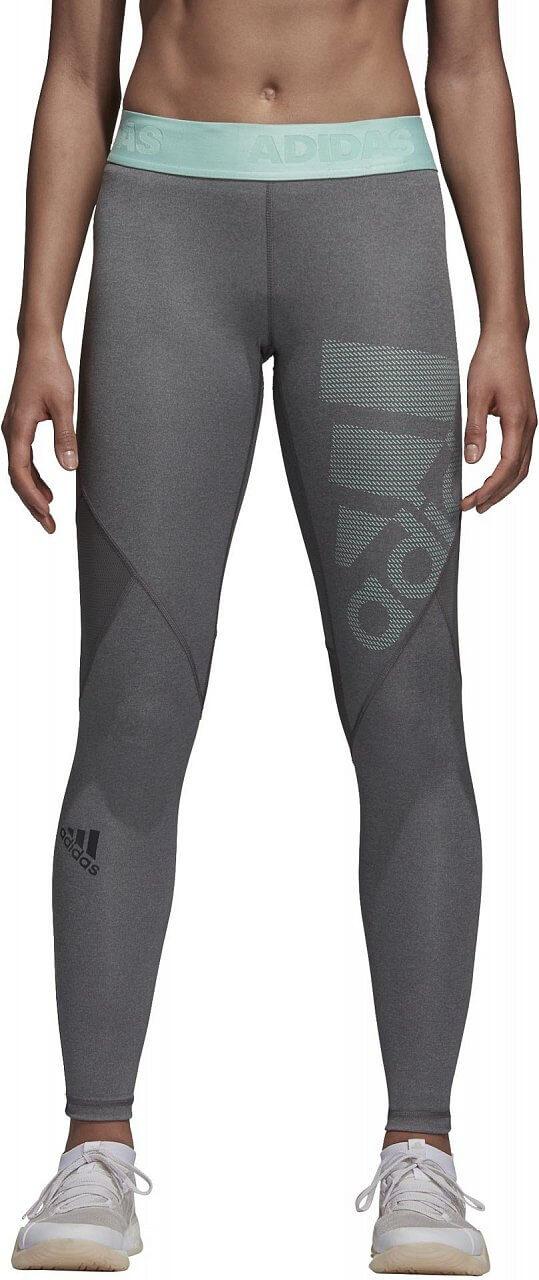 Dámské sportovní kalhoty adidas Alphaskin Sport Long Tight Logo Pack