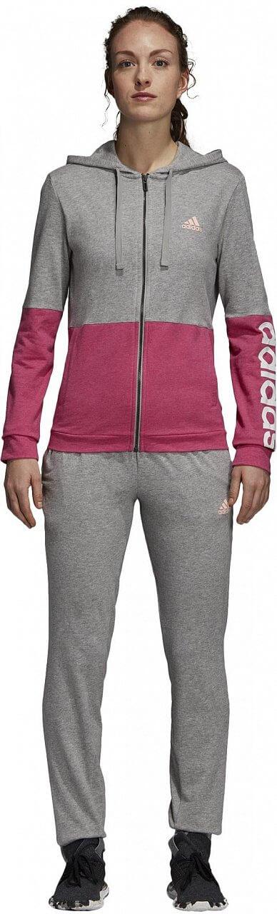 Dámská sportovní souprava adidas Womens Tracksuit Cotton Marker
