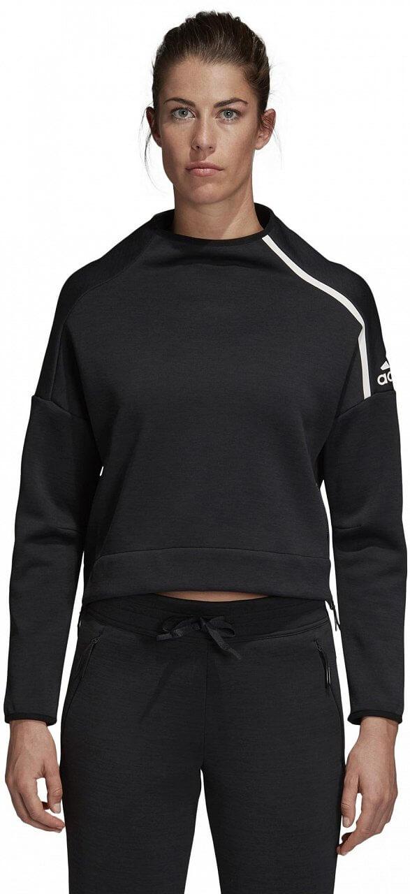 Dámská sportovní mikina adidas ZNE Crew Sweatshirt