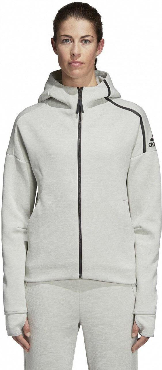 Dámská sportovní mikina adidas ZNE Hoodie feat. Fast Release Zipper