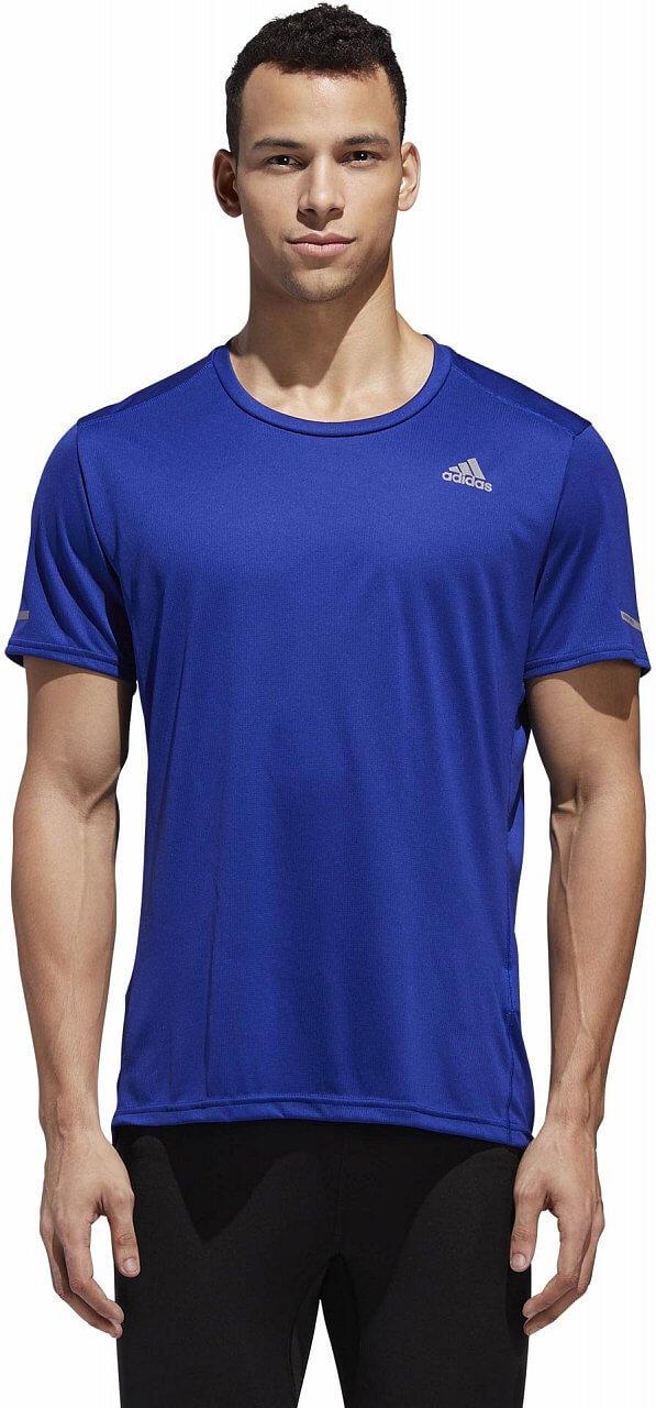 Pánské běžecké tričko adidas Run Short Sleeve Tee Men