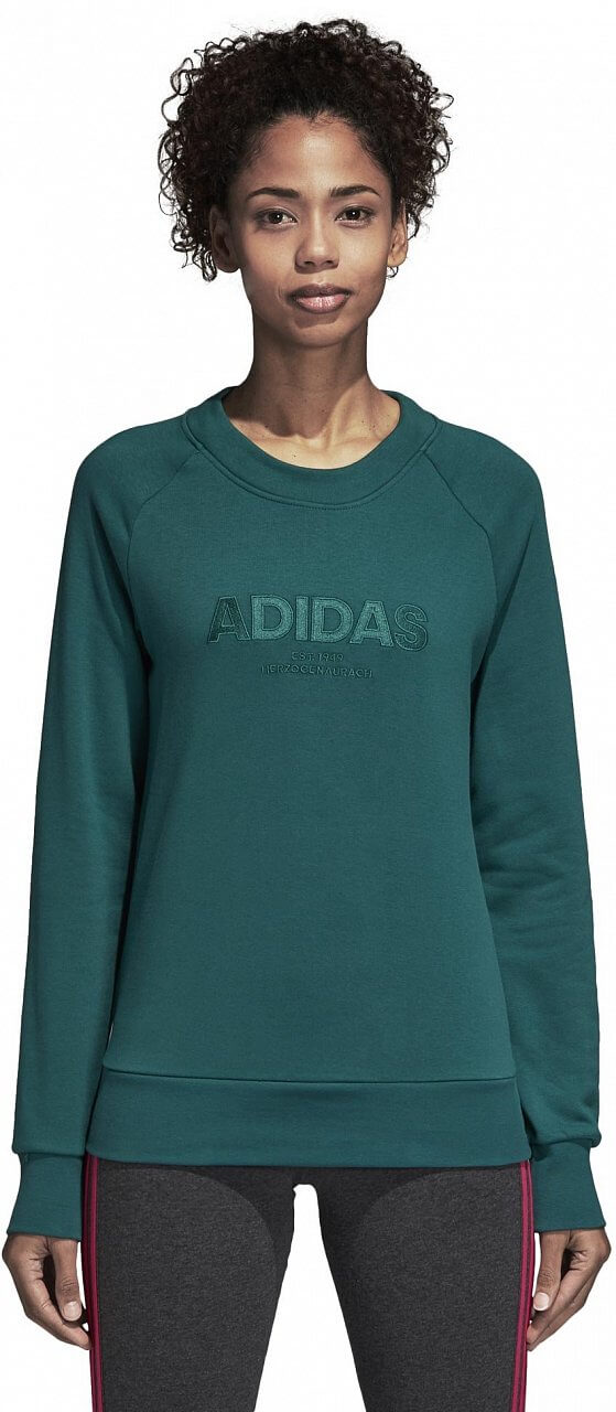 Melegítő felső adidas Essentials All Caps Crewneck Sweatshirt