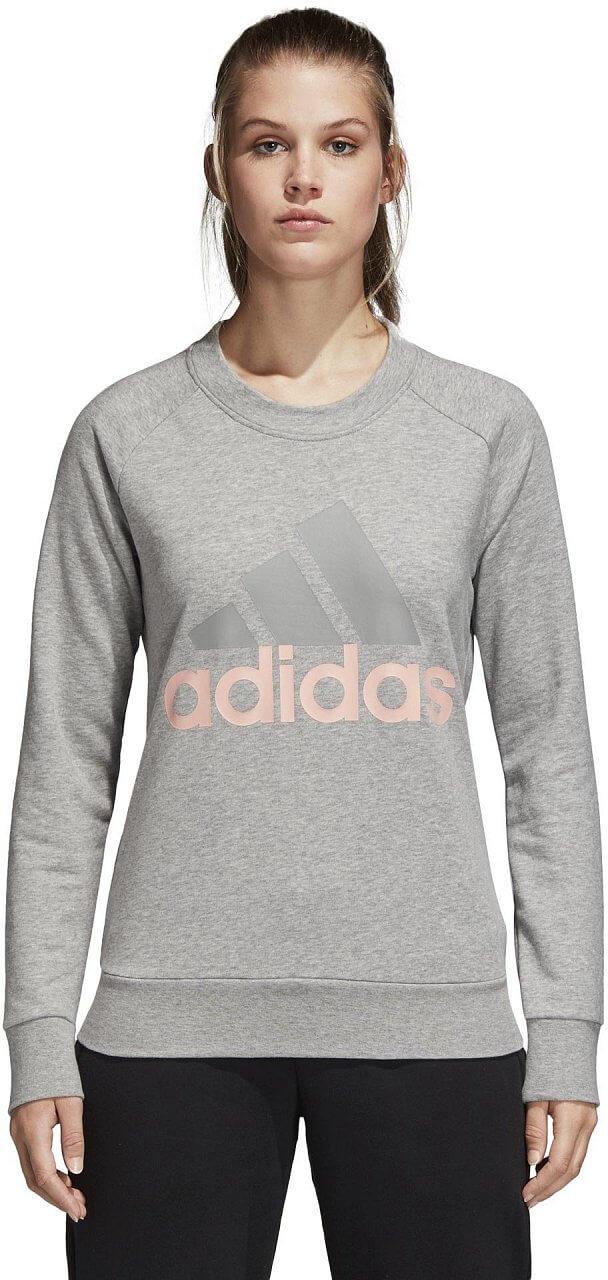 Dámská sportovní mikina adidas Essentials Linear Crewneck Sweatshirt
