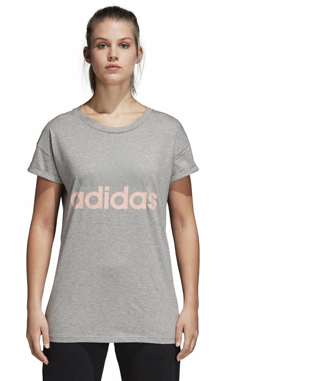 Pólók adidas Essentials Linear Loose Tee