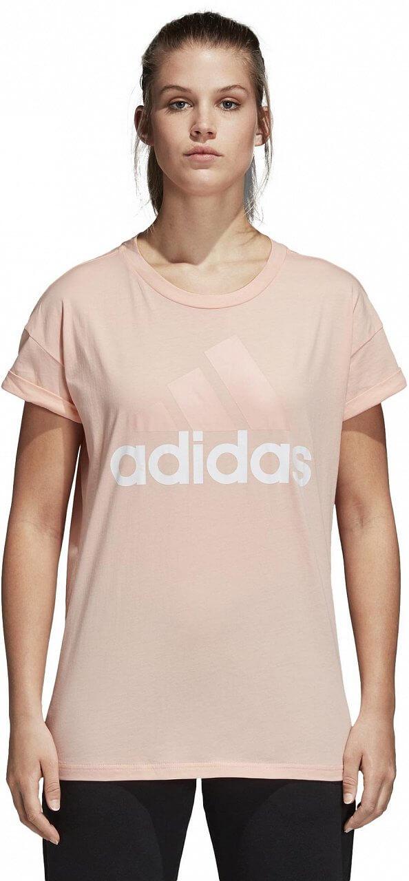 Pólók adidas Essentials Linear Loose Tee