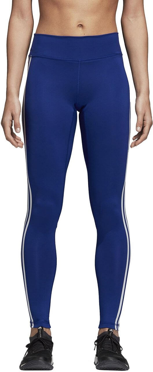 Nadrágok adidas Believe This Solid Three Stripes Long Tight