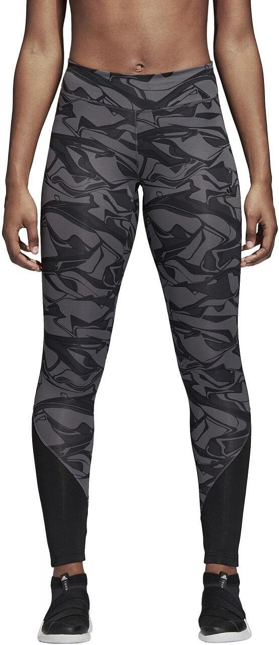Nadrágok adidas Design to Move Regular Rise Print Long Tight