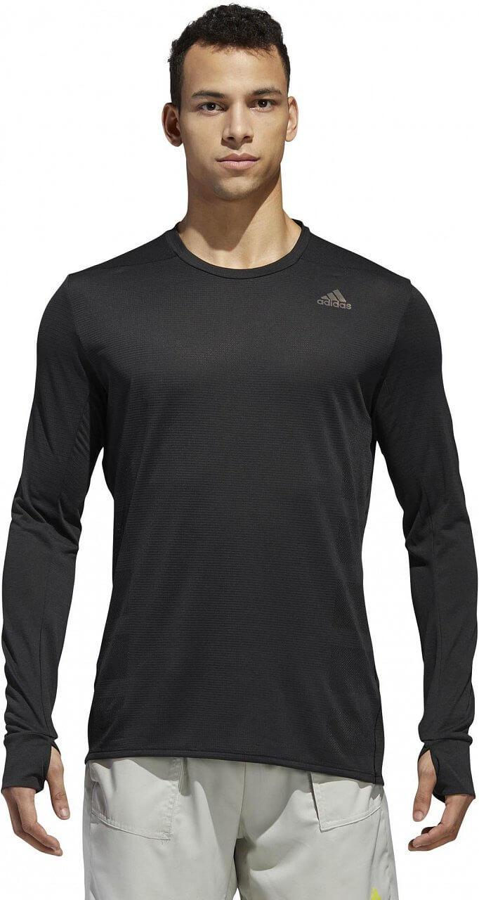 Pánské běžecké tričko adidas Supernova Long Sleeve Tee Mens