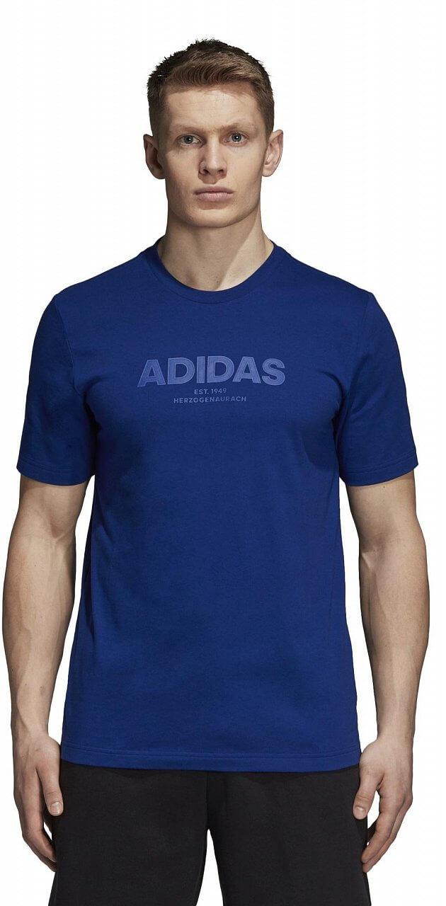 Pánské sportovní tričko adidas Essentials AllCap Tee
