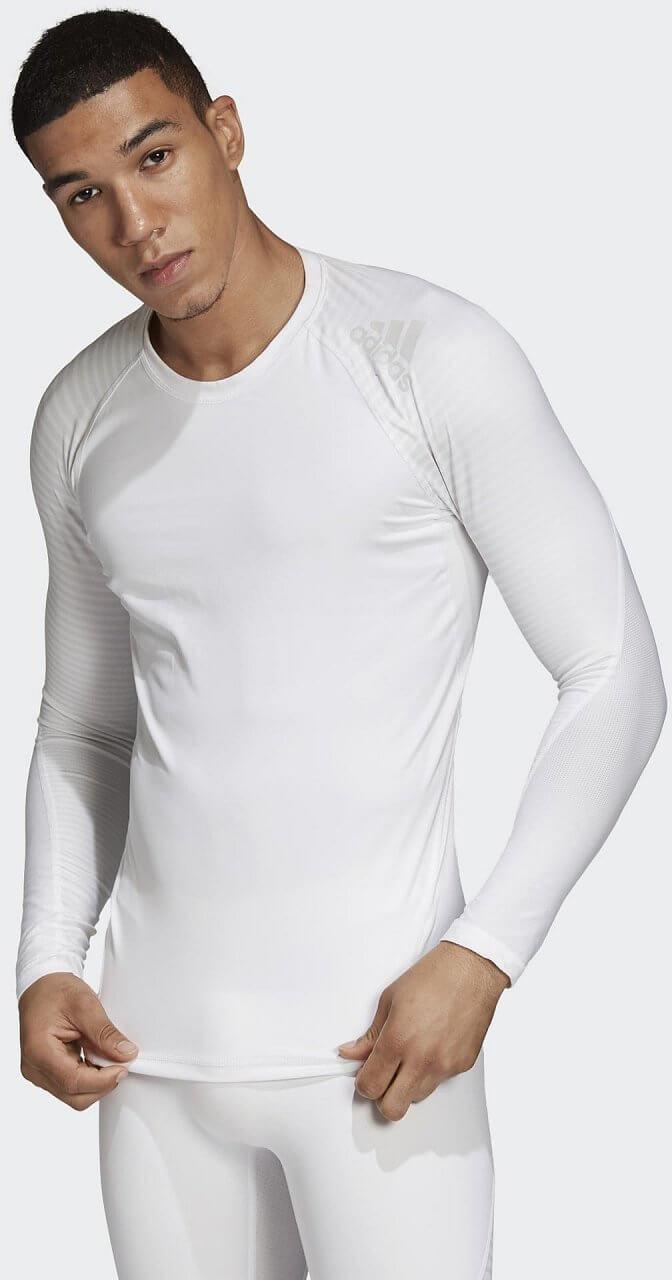 Pólók adidas Alphaskin Sport Long Sleeve Tee Print