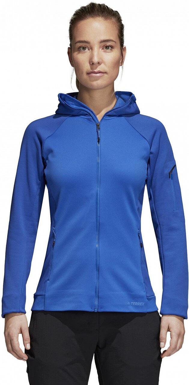Melegítő felső adidas Stockhorn Hooded Fleece Jacket
