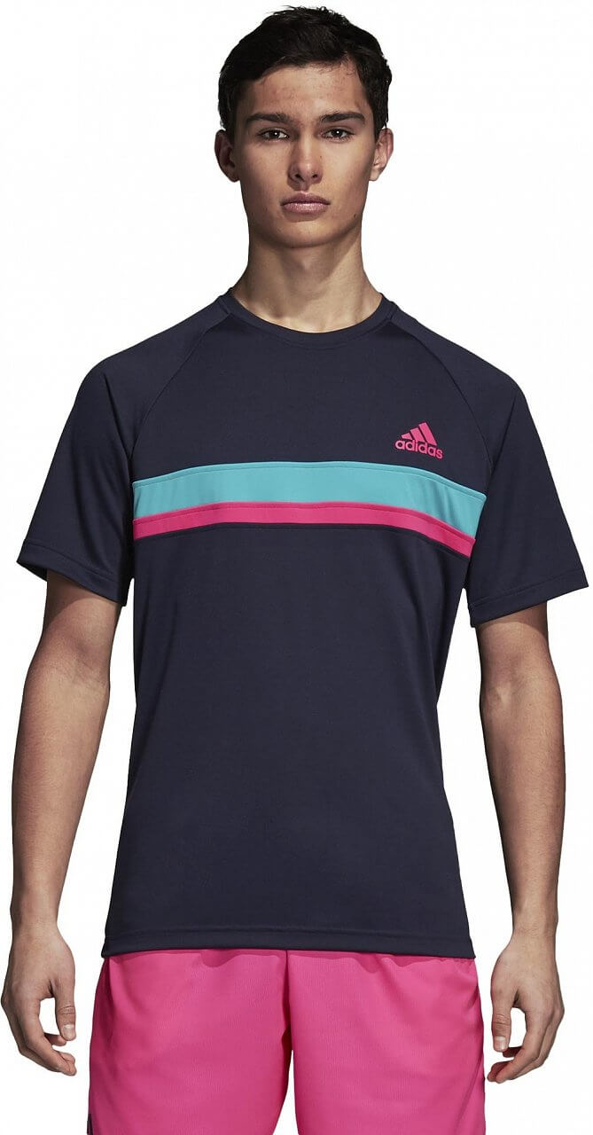 Pólók adidas Club Color Block Tee