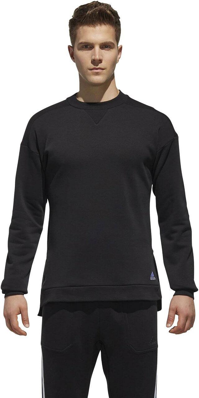 Melegítő felső adidas M Sport2Street Big Logo Pullover Sweat