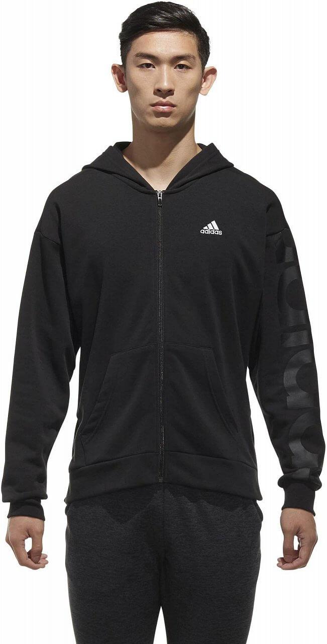 Melegítő felső adidas M Sport2Street Big Logo Fleece Hoodie