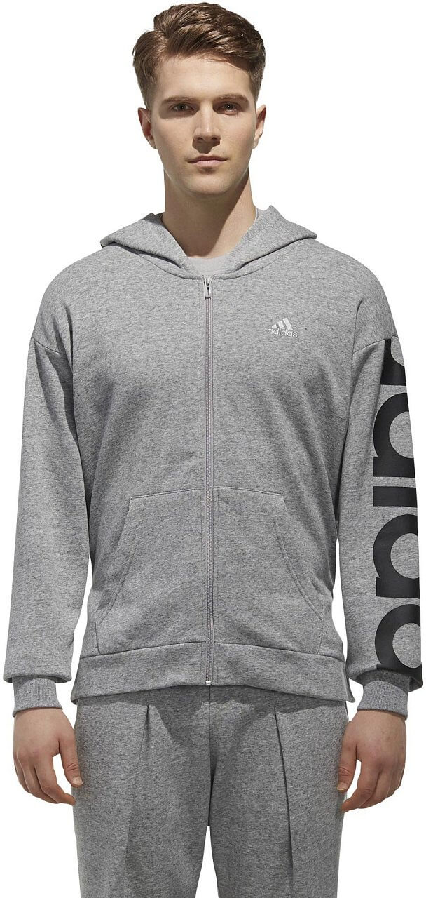 Pánská sportovní mikina adidas M Sport2Street Big Logo Fleece Hoodie
