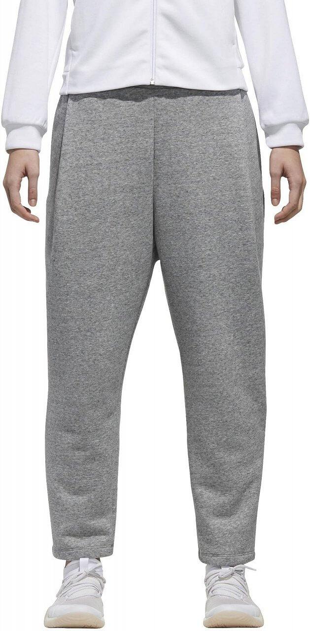 Dámské sportovní kalhoty adidas W Sport2Street Big Logo Fleece Ankle Pant