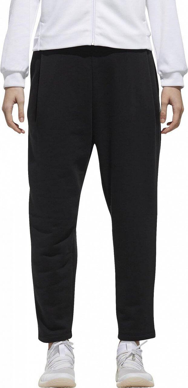 Nadrágok adidas W Sport2Street Big Logo Fleece Ankle Pant