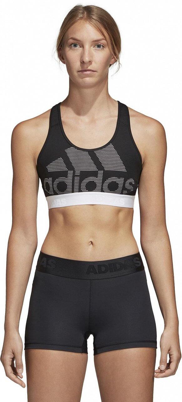 Dámská sportovní podprsenka adidas Dont Rest Alphaskin Sport Logo Pack Solid