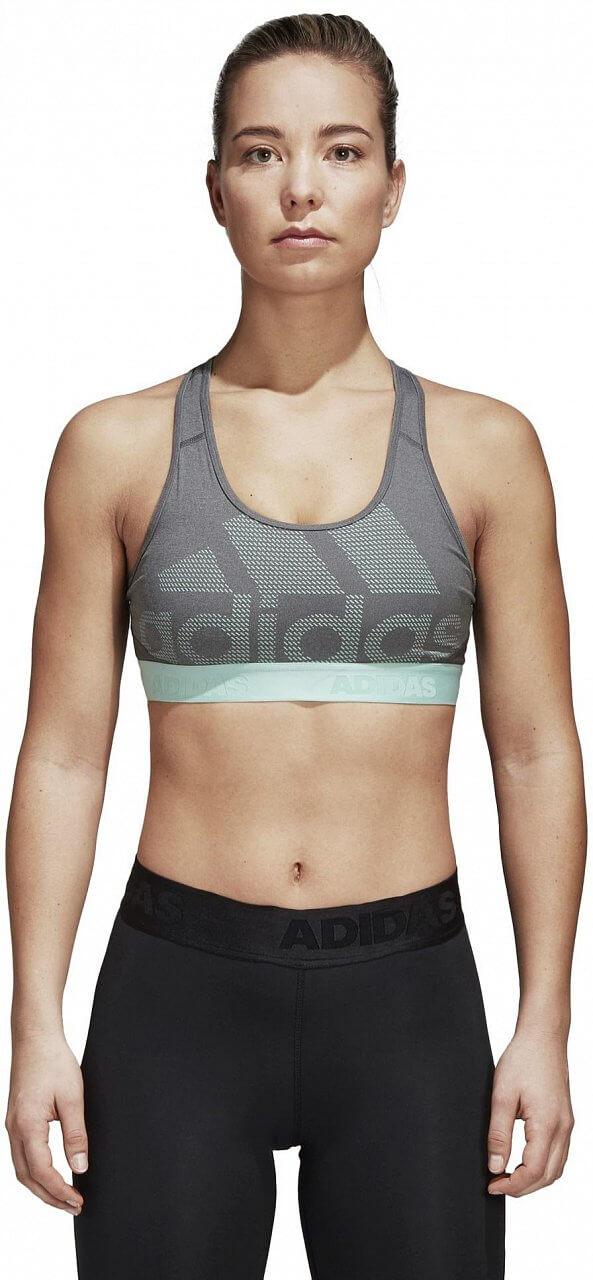 Dámská sportovní podprsenka adidas Dont Rest Alphaskin Sport Logo Pack