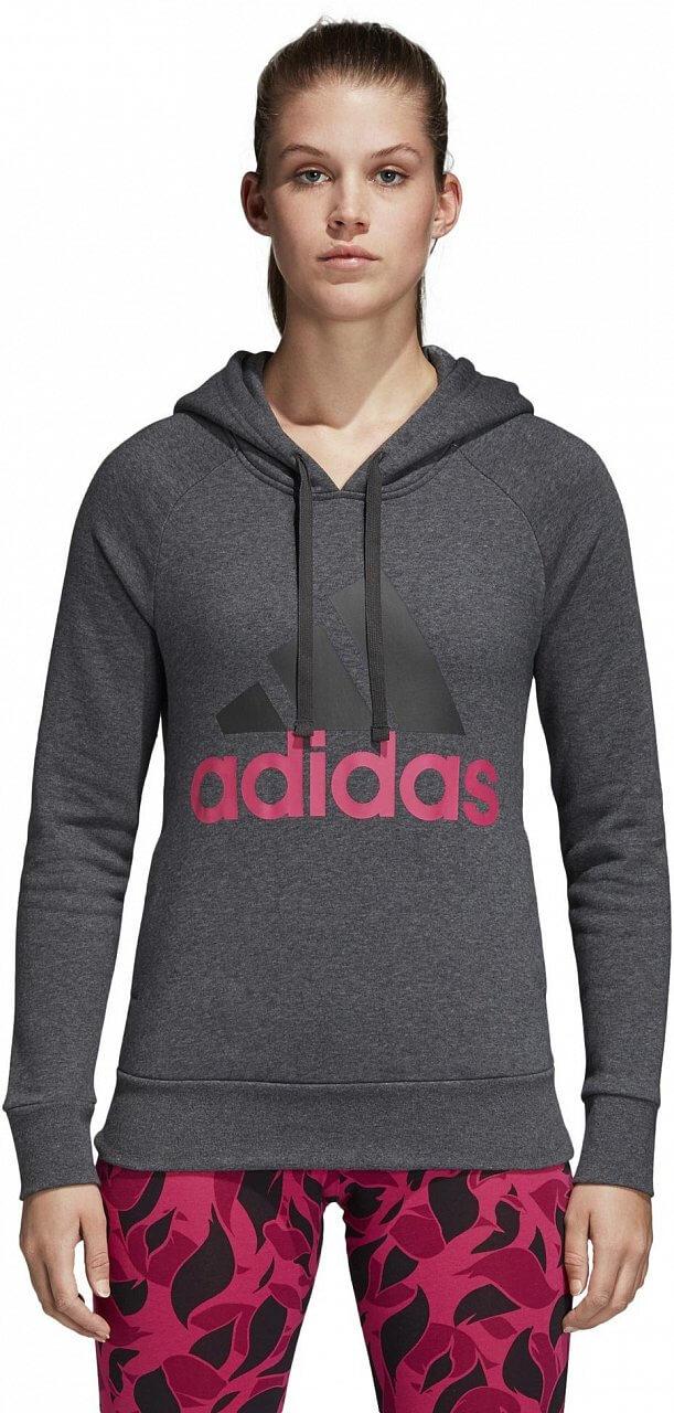 Melegítő felső adidas Linear Over Head Fleece Hoodie