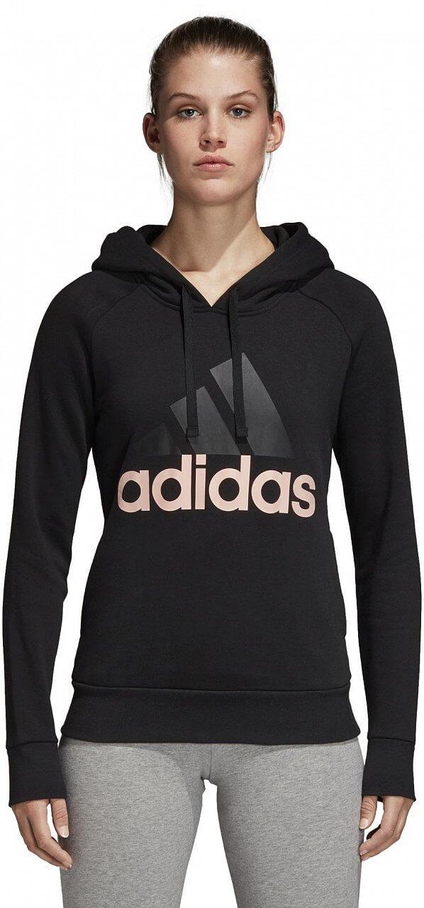 Dámská sportovní mikina adidas Linear Over Head Fleece Hoodie