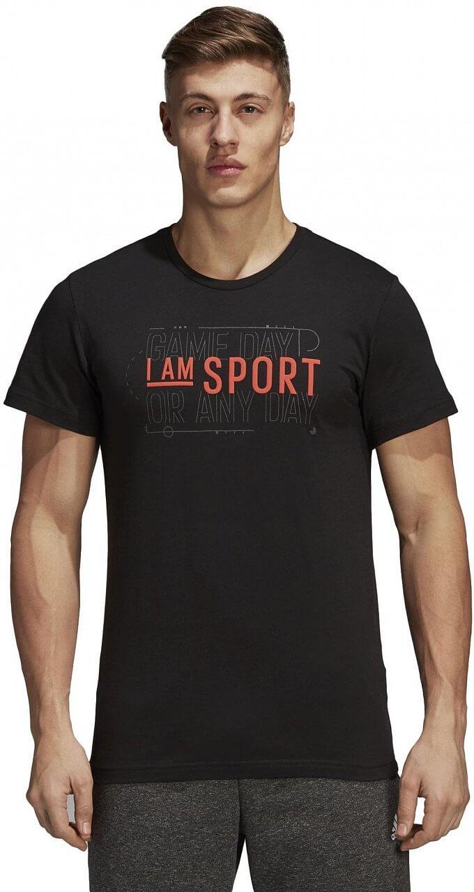 Pánské sportovní tričko adidas Verbiage T-Shirt