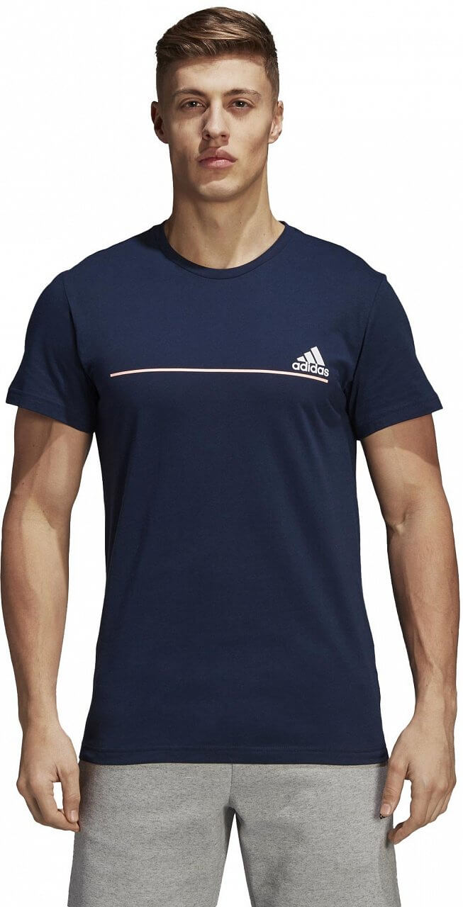 Pánské sportovní tričko adidas Number T-Shirt