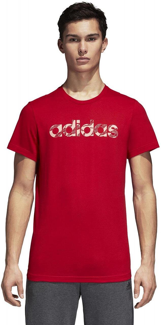 Pánské sportovní tričko adidas Linear Camo