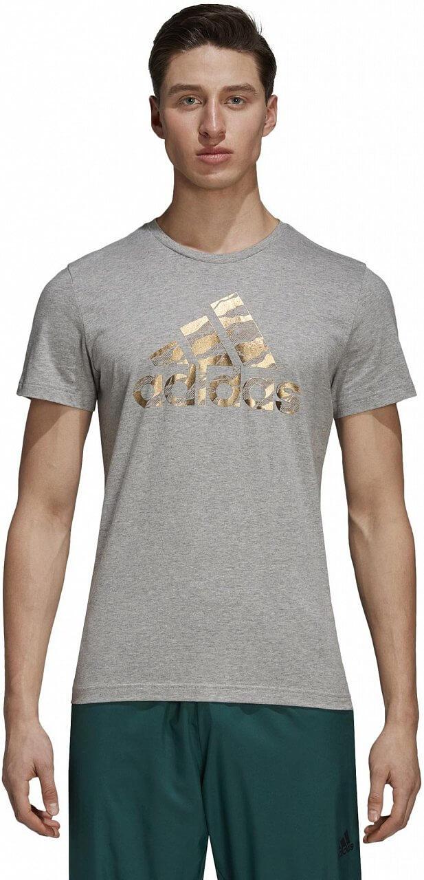 Pánské sportovní tričko adidas Badge Of Sport Foil Camo