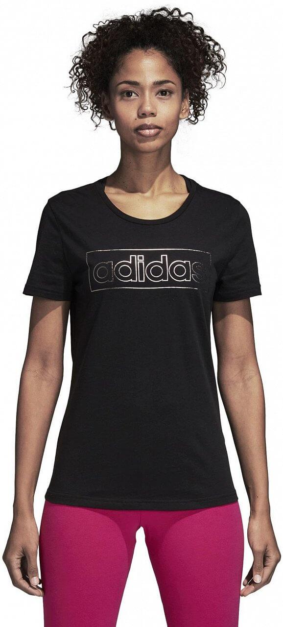 Pólók adidas Foil Linear Tee