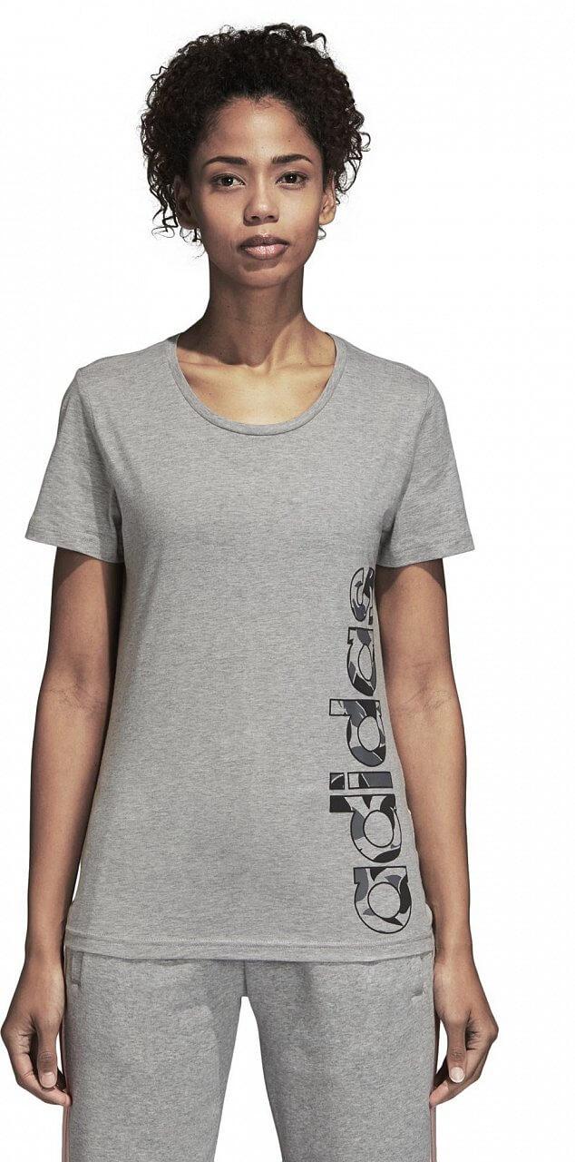 Pólók adidas AOP Linear Tee