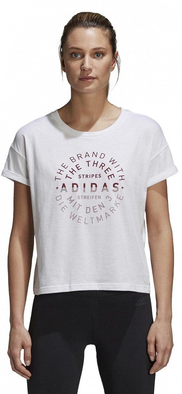Pólók adidas Emblem Tee