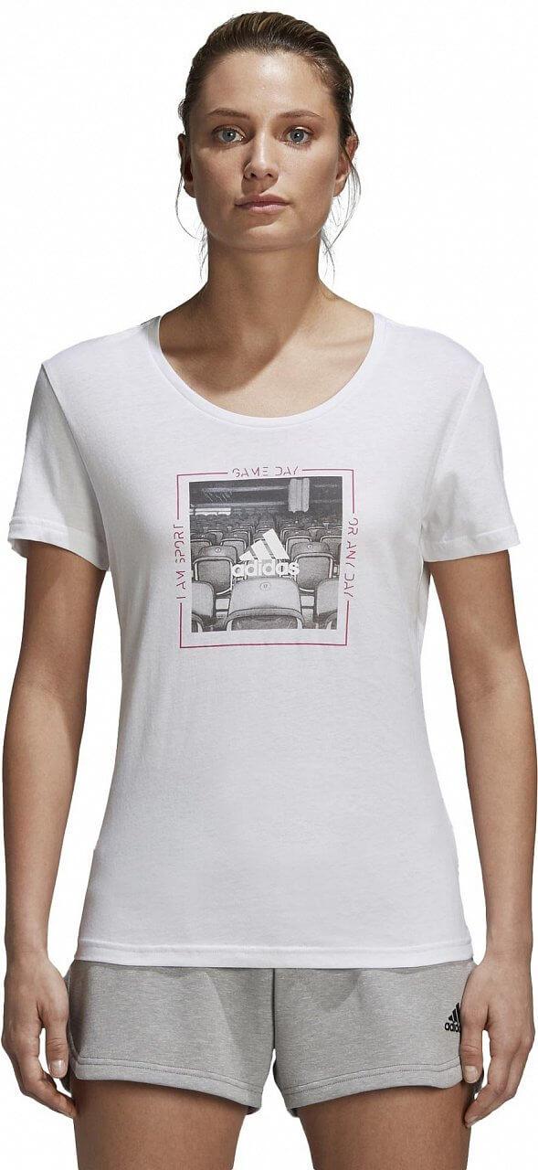 Dámské sportovní tričko adidas Mood Tee