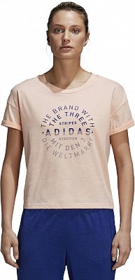Dámské sportovní tričko adidas Emblem Tee f2af154ead3