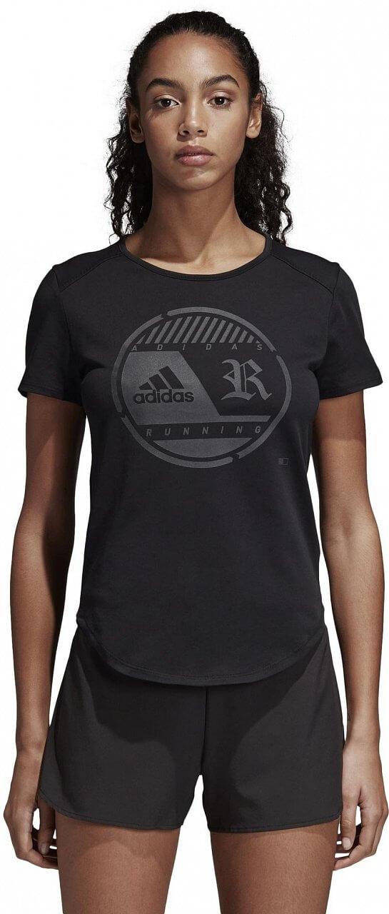 Pólók adidas Crest Tee W