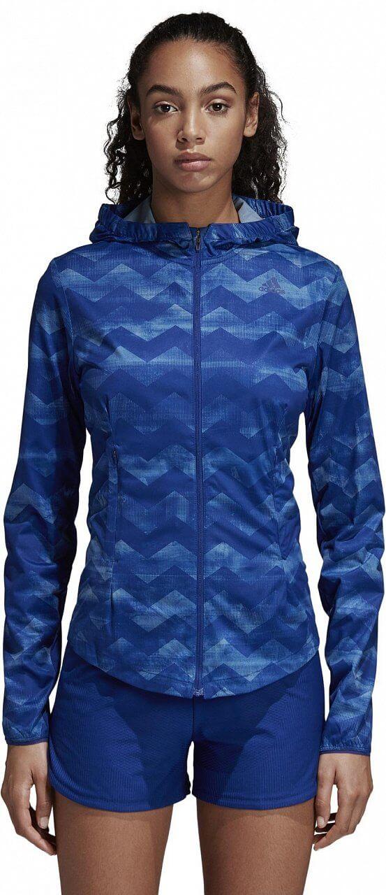 Dámská běžecká bunda adidas Adizero Track Jacket Women