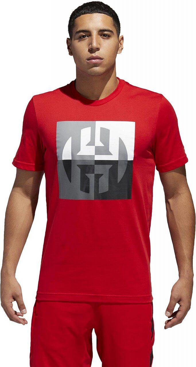 Pánské sportovní tričko adidas Harden Big Logo