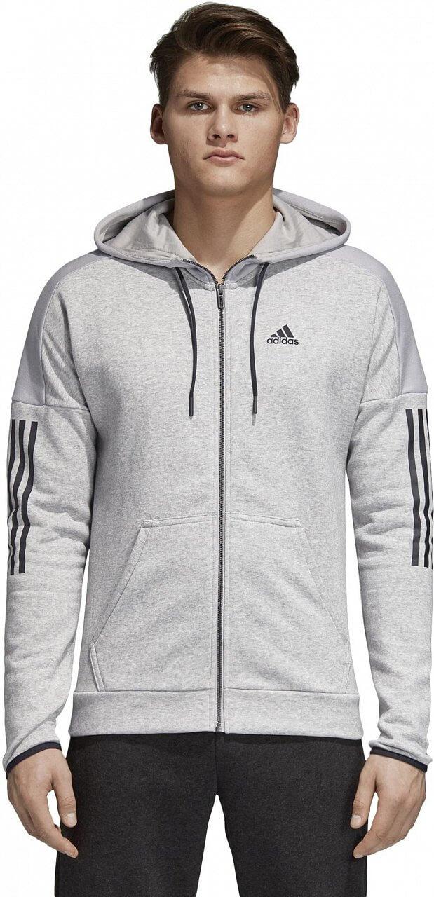 Melegítő felső adidas Sport ID Logo Fleece Full Zip Hoodie