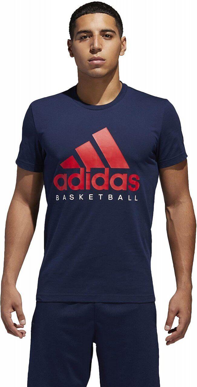 Pólók adidas Basketball Graphic Tee