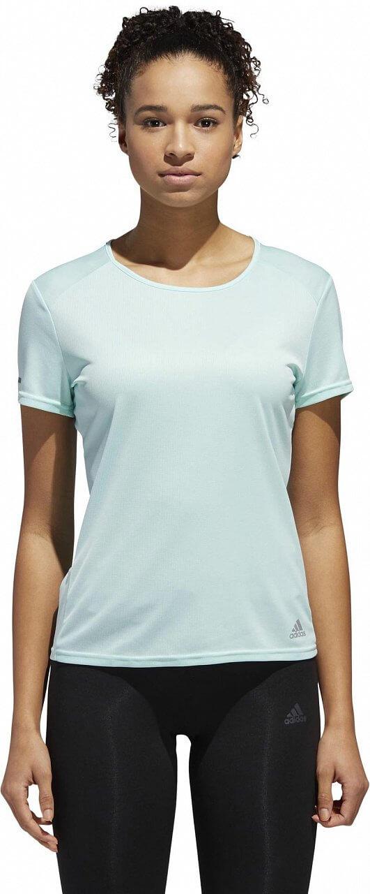 Dámské běžecké tričko adidas Run Short Sleeve Tee Women