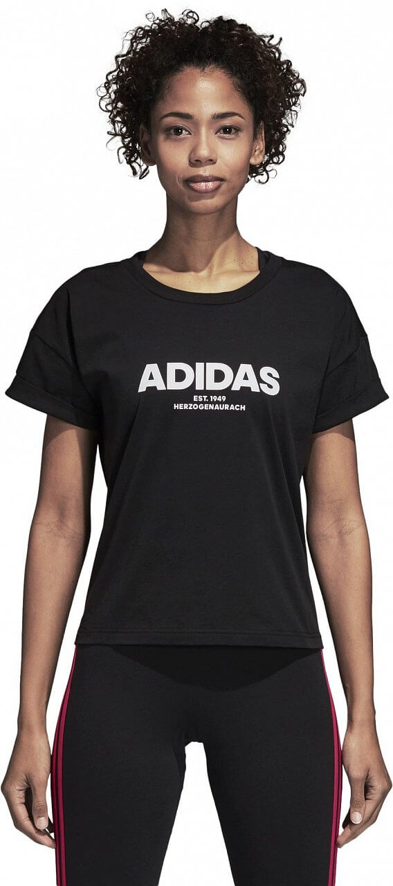 Pólók adidas Essentials All Caps Tee
