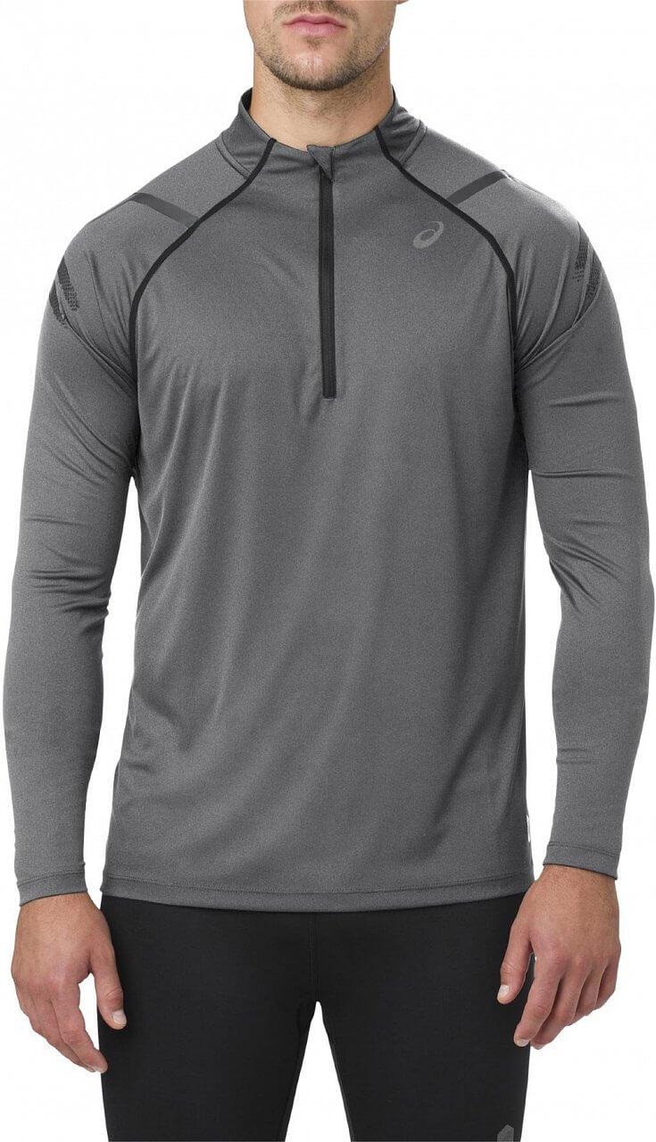 Pánské běžecké tričko Asics Icon LS 1/2 Zip