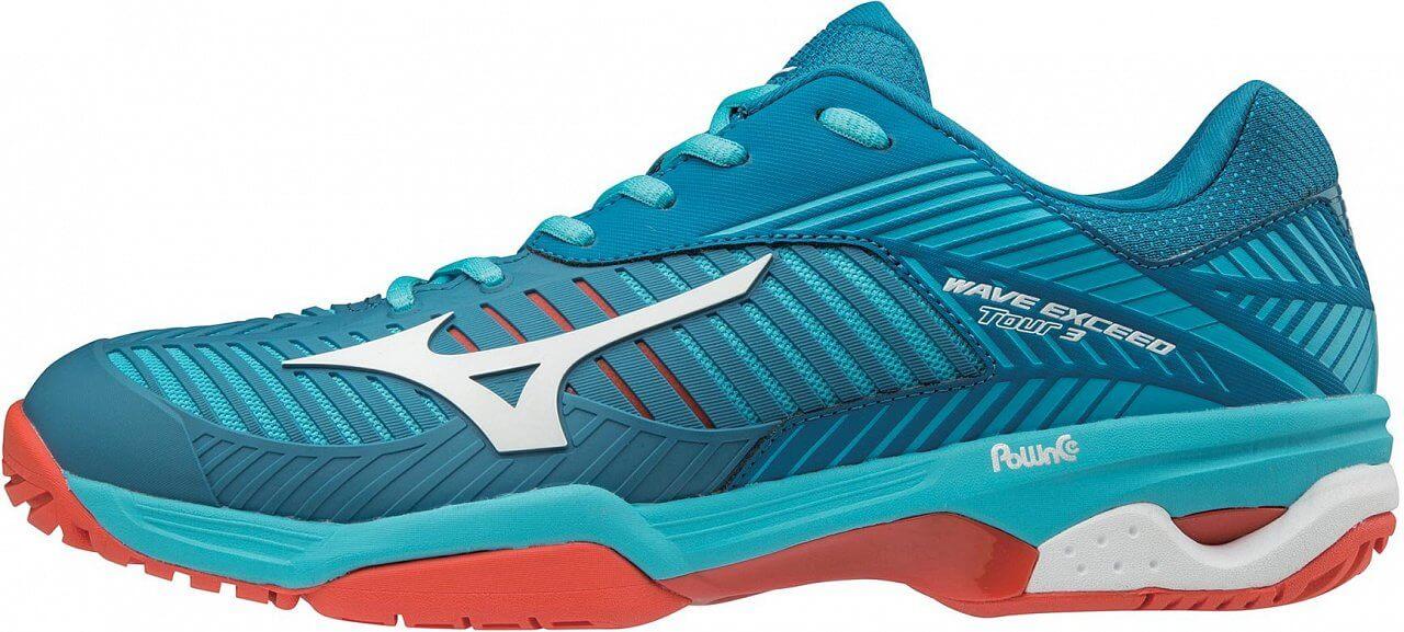 9d56af4a40c Mizuno Wave Exceed Tour 3 AC - pánské tenisové boty