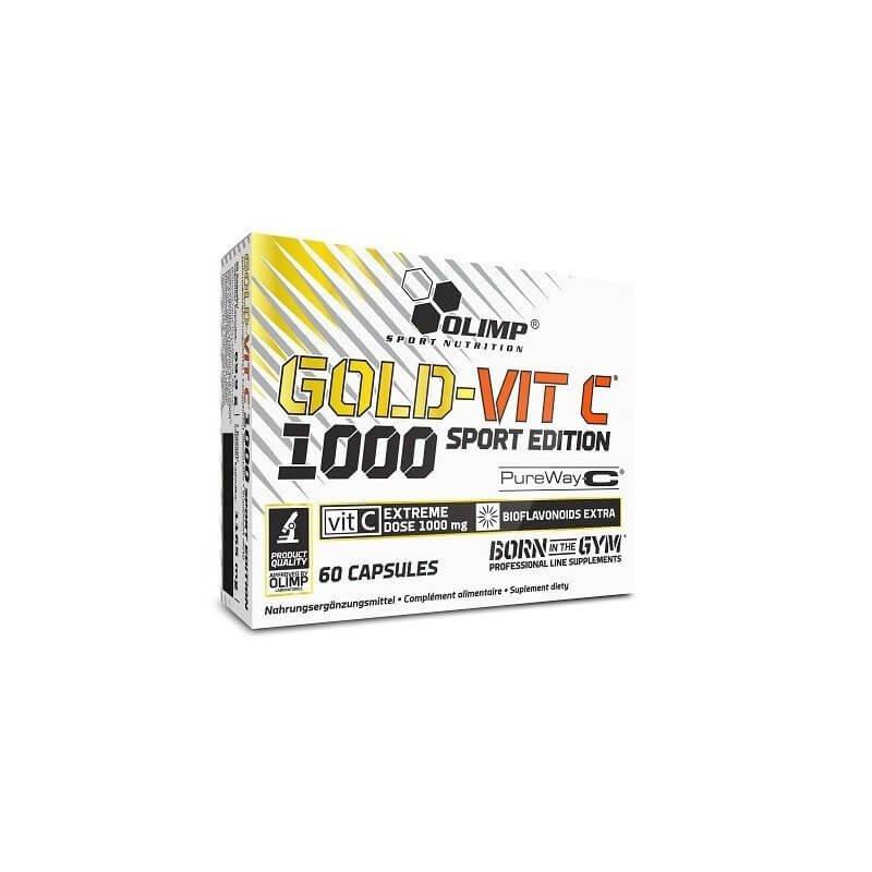 Vitamíny a minerály Olimp Gold - Vit C™ 1000 Sport Edition, 60 kapslí