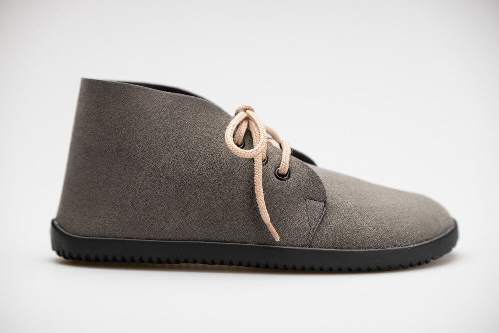 Barefoot cipők Ahinsa Bindu Bare Ankle Šedá