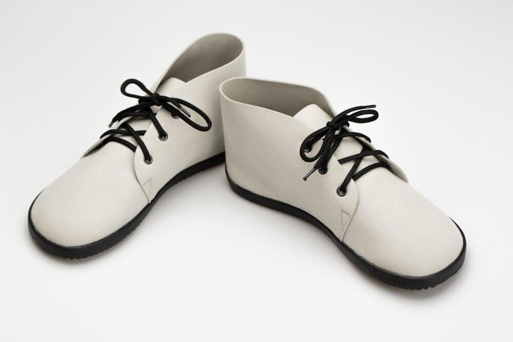 Barefoot cipők Ahinsa Bindu Bare Ankle Světle Šedá