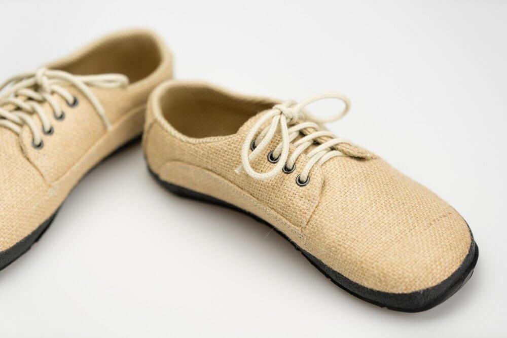 Barefoot cipők Ahinsa Sundara Bare Kávová Recyklovaná Moto