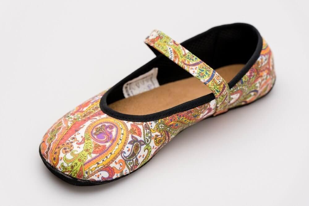Barefoot cipők Ahinsa Ananda Bare Balerínka Pashmina