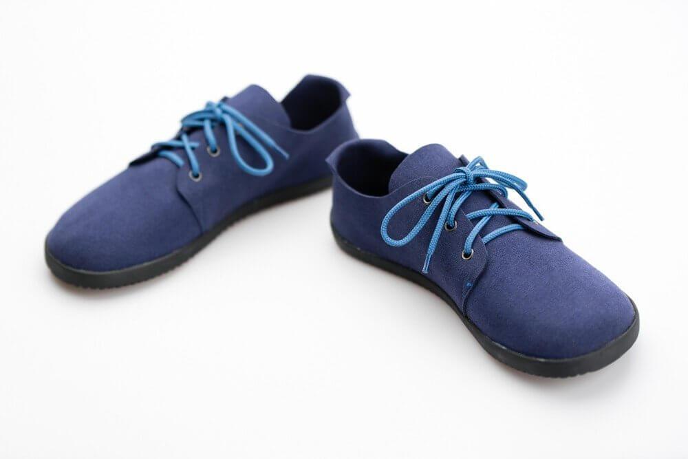 Barefoot cipők Ahinsa Bindu Bare Modrá